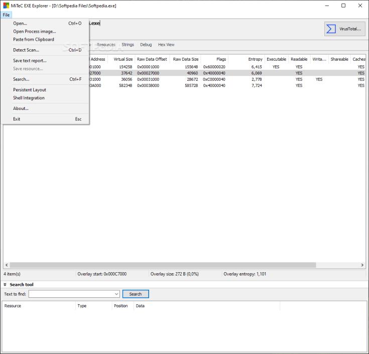 MiTeC EXE Explorer 2.5.5.0 Torrent Download