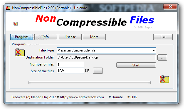 NonCompressibleFiles 4.1 Cracked