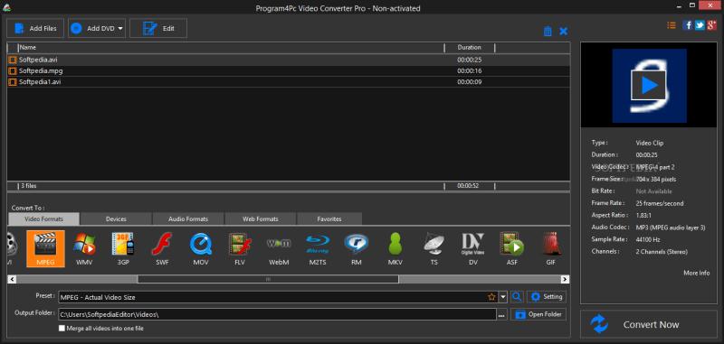 Program4Pc PC Video Converter 10.8.0 Activation
