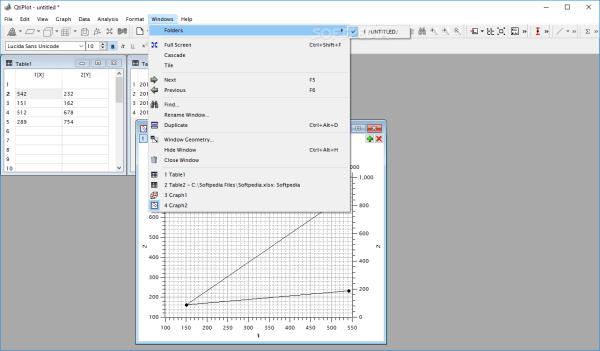 Download QtiPlot 0.9.9.14 / 1.0.0 RC11