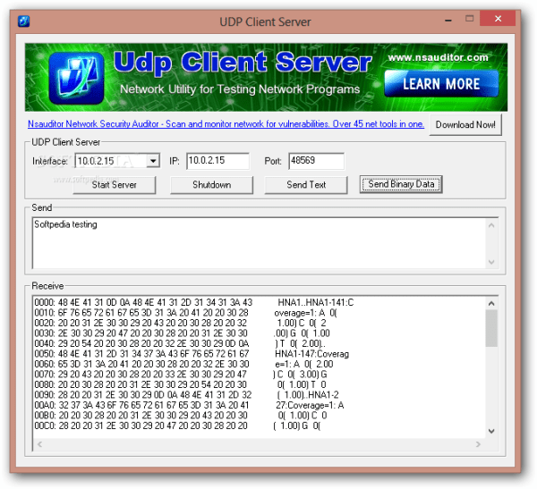 Download UDP Client Server 1.1.3