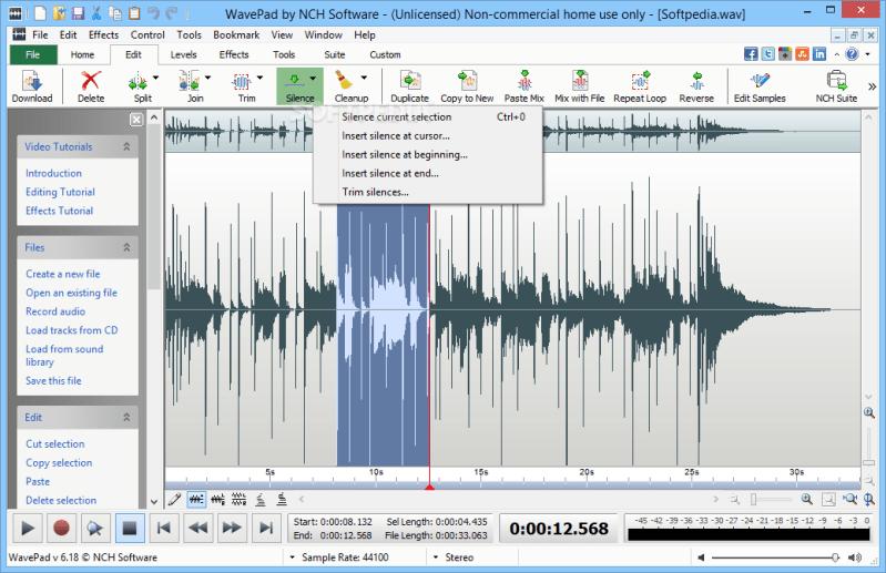Wavepad Sound Editor Master S Edition 10 6 Portable