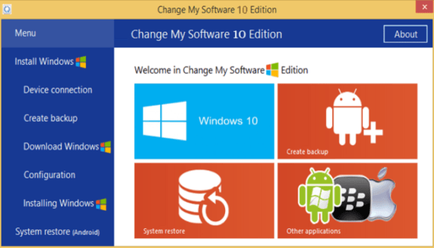 change my software 10 edition no survey