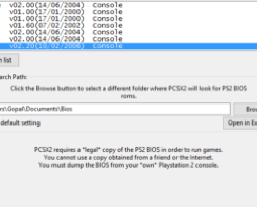 ps2 emulator pc download