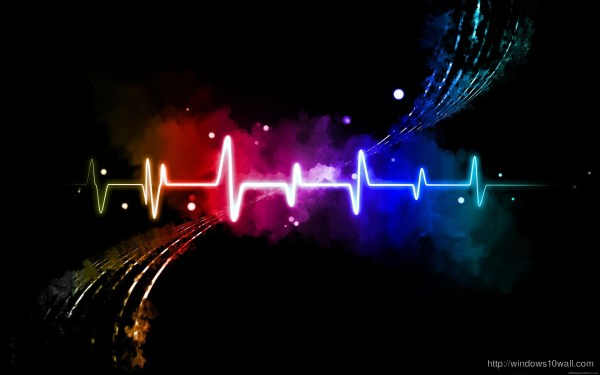 Colorful Abstract Soundwave Hd Wallpaper - windows 10 ...