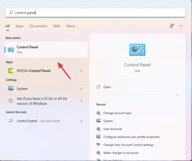 Change Windows 11 Administrator by Control Panel
