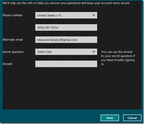 Toogle Between Microsoft account to local account 2
