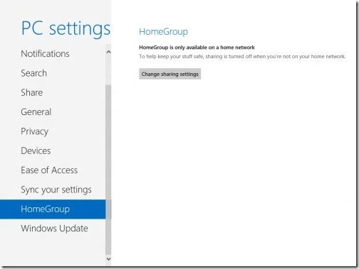 Windows 8 PC settings 10
