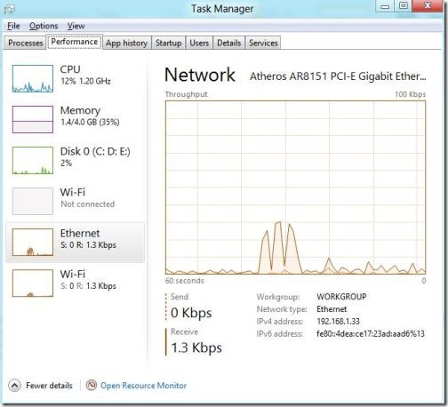 Windows 8 task manager 2