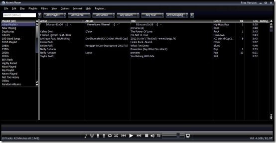 music player for Windows 8