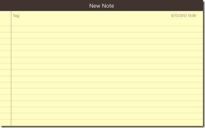 Quick Note App 001