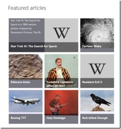 Wikipedia Application 001