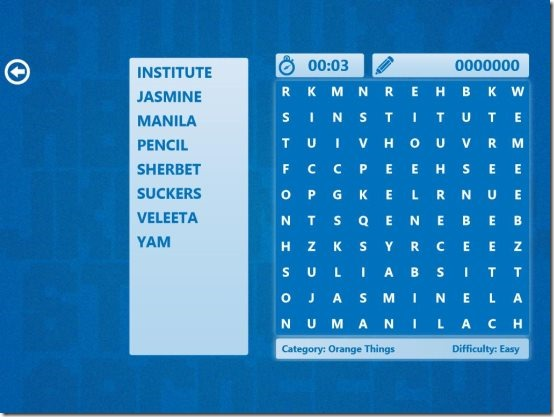 Word Search App 001