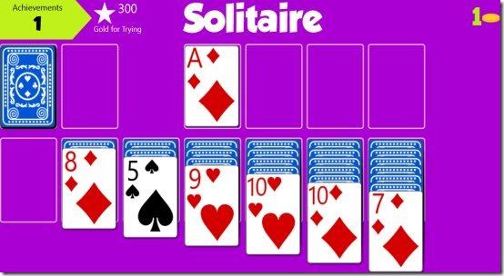 Windows 8 card game
