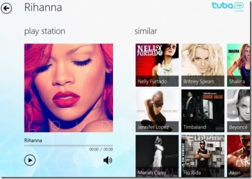Windows 8 Radio apps