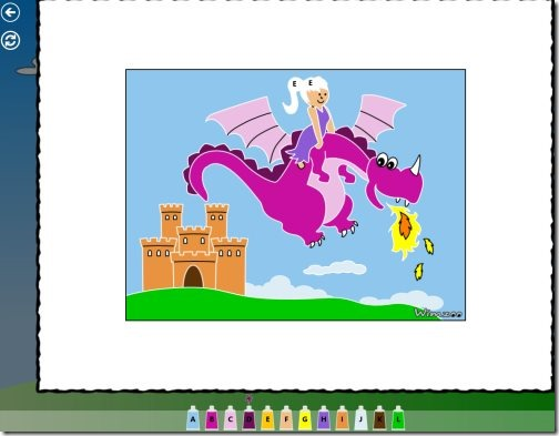 Windows 8 Color Book app