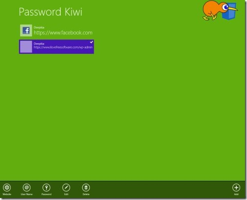 Windows 8 password manager apps