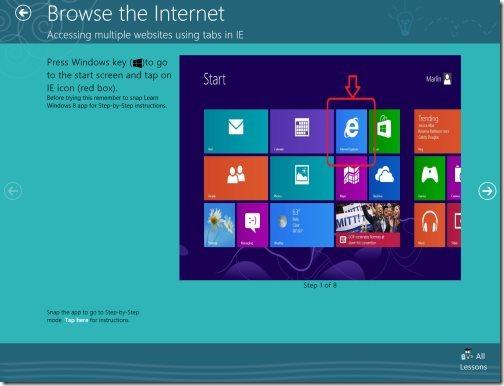 Learn Windows8