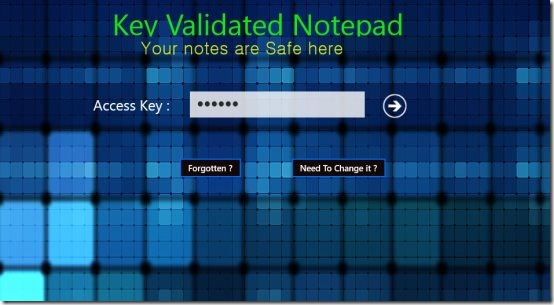Lock Notepad