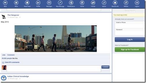 Windows 8 facebook client apps