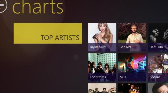 music app artists