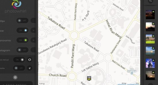 photowhirl maps