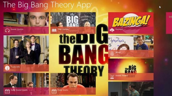 big bang theory app