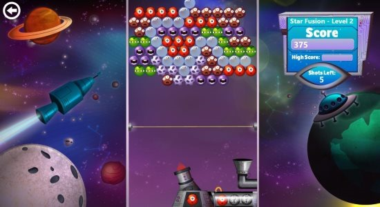 bubble star game app