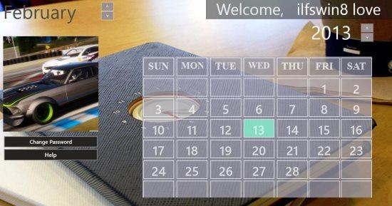 digital diary calendar
