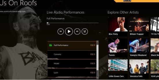 kexp audio performances