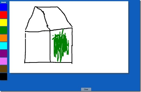 Windows 8 painting app