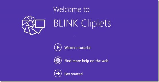 blink cliplets video editor app