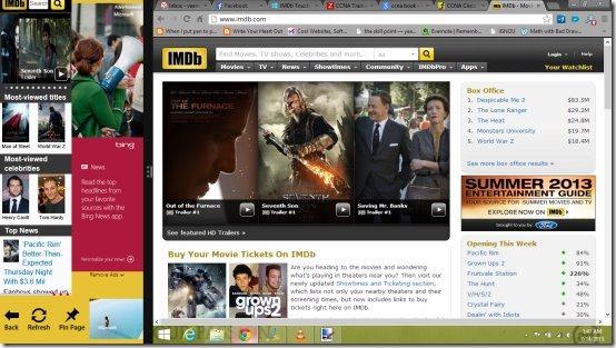 imdb snap shot