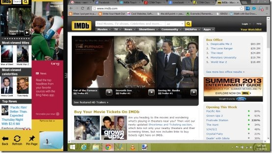 Imdb Touch  Free Windows 8 Movie Database App
