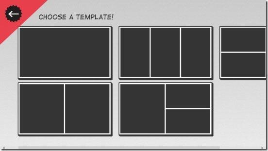 Comic Director - choosing frames
