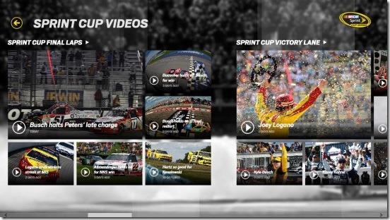NASCAR - videos