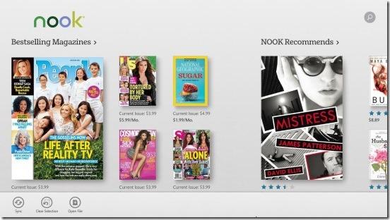 Nook - catalog