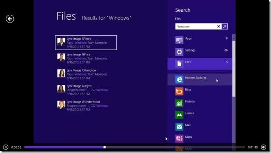 QuickHelp- video tutorial on understanding Windows 8 search charm