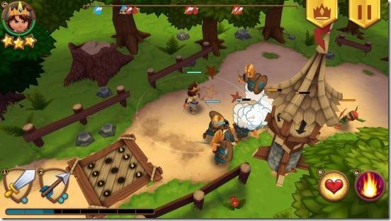 Royal Revolt-game play