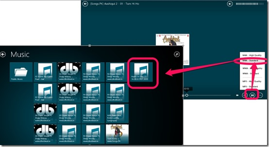 Multimedia 8- Convert your music files to other formats