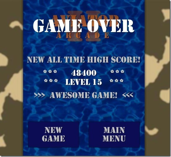 Aviator Arcade - game results