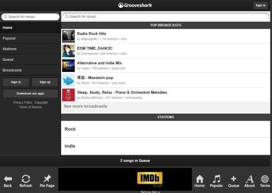 Grooveshark Forever - home
