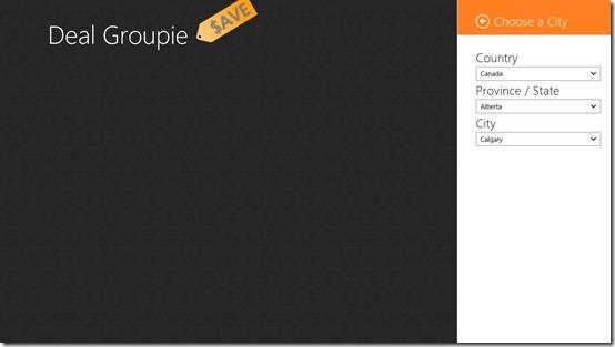 Deal Groupie- Start Screen