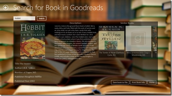 Goodbooks- Book Search
