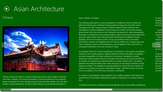 Historic Architecture- detailed description