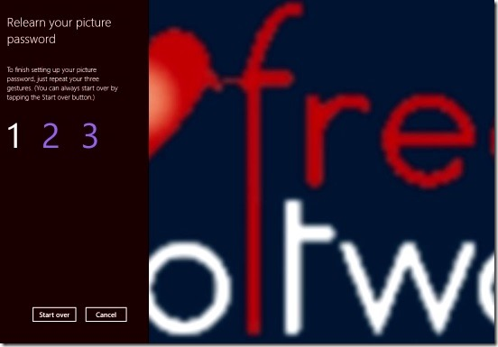 Windows 8 Tutorial - regaining forgotten picture password gestures