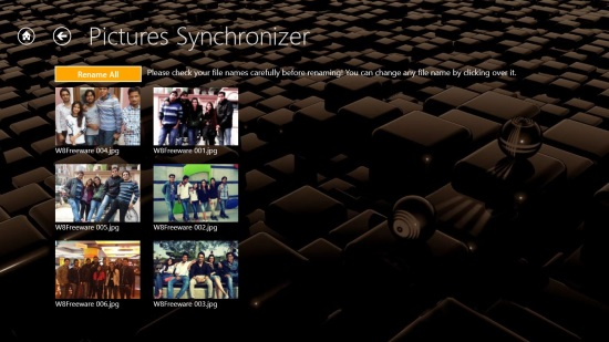 Pictures Synchronizer