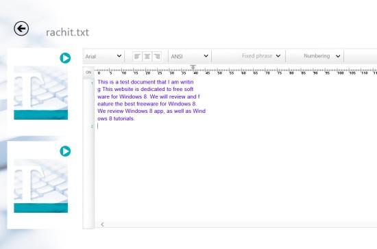 ELECOM Text Editor