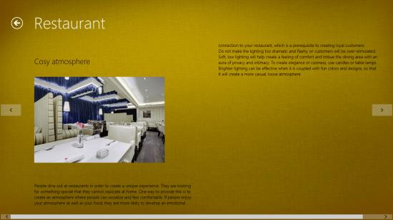 Windows 8 interior design app free interior decor for Restaurant interior design app