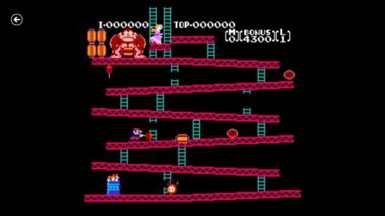 Nesbox-  Donkey Kong gameplay